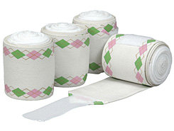 Equine Couture Argyle Pro-Lastic Fashion Polo Bandages Best Price