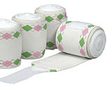 Equine Couture Argyle Pro-Lastic Fashion Polo Bandages