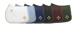 Equine Couture Fleur De Lis All Purpose Saddle Pad