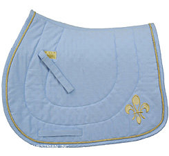 The Fleur De Lis Dressage Saddle Pad