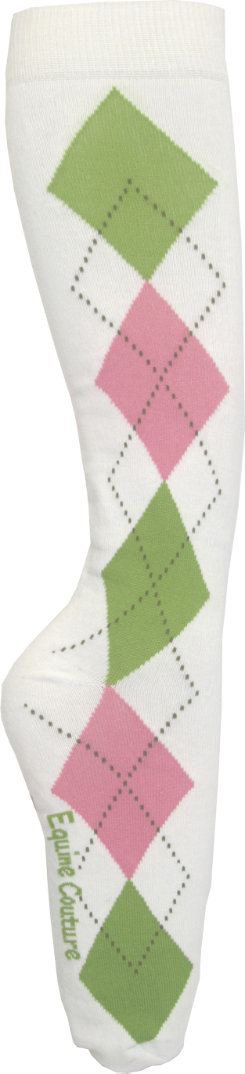 Equine Couture Argyle Socks