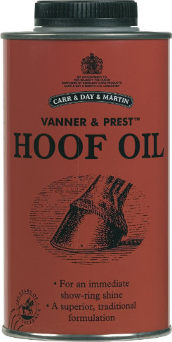 Vanner & Prest Hoof Oil by Carr & Day & Martin