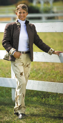 Equine Couture Ladies Oxford Riding Jeans