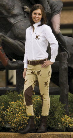 Equine Couture Ladies Oxford Show Shirt Best Price