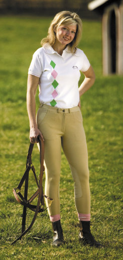 Tuffrider Ladies Perfect Fit Riding Breeches<font color=#000080>- SIZE:  34  COLOR:  Light Tan</font> Best Price