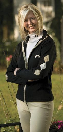 Equine Couture Ladies Newport Zippered Sweatshirt Best Price