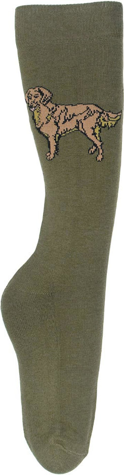 TuffRider Ladies EcoGreen Bamboo Golden Retriever Socks Best Price