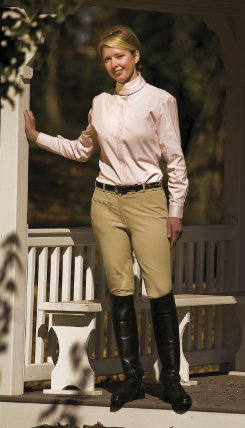 EcoGreen Ladies Bamboo Riding Breeches Best Price