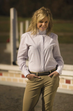 TuffRider Ladies Somerset Show Shirt