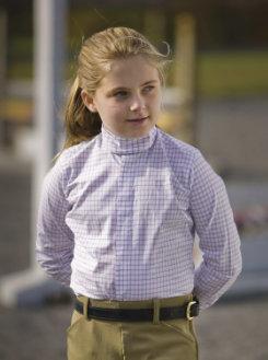 TuffRider Kid's Somerset Show Shirt Best Price