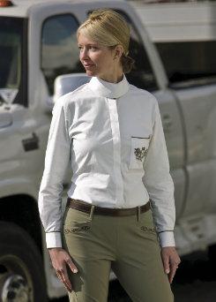 Equine Couture Ladies Heritage Show Shirt Best Price