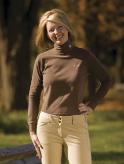 Equine Couture Ladies Heritage Turtleneck Top