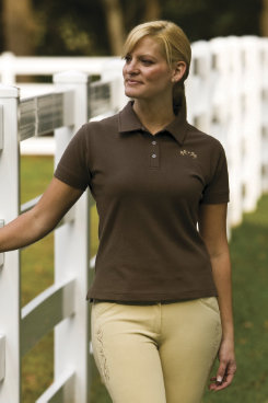 Equine Couture Ladies Heritage Polo Shirt Best Price