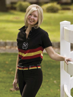 Equine Couture Ladies Breed Collection Polo Shirt Best Price