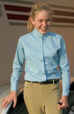 TuffRider Kids Long Sleeve Elegance Show Shirt Best Price