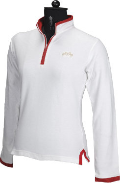 Equine Couture Ladies Spinnaker Long Sleeve Polo Shirt