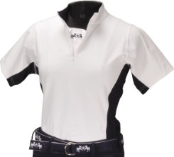 Equine Couture Ladies Plus Sportif Technical Short Sleeve Shirt Best Price