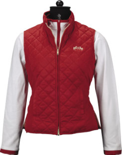 Equine Couture Ladies Spinnaker MicroSuede Vest