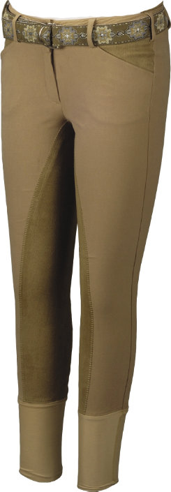 Equine Couture Ladies Sportif Full Seat Breeches with CS2
