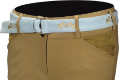 Equine Couture Ladies Oceanic Ribbon Belt
