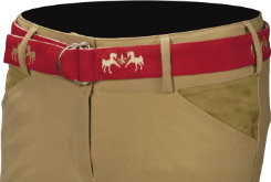 Equine Couture Ladies Royal Caliber Suede Belt