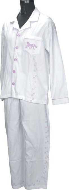 TuffRider Ladies Plus Size Trotter PJ Shirt and Pant Set