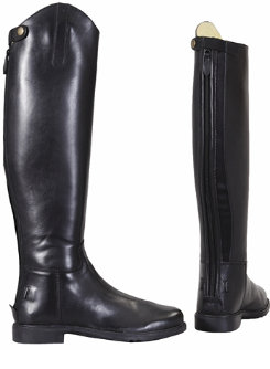 Tuffrider Mens Baroque Zip Back Dress Boots