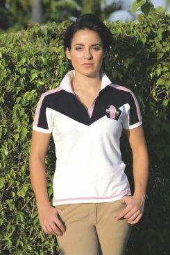 Equine Couture Ladies Tradewinds Short Sleeved Polo Shirt Best Price