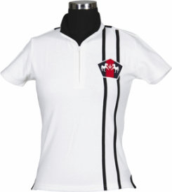 Equine Couture Ladies Atlantic Plus Sized Short Sleeved Polo Shirt Best Price