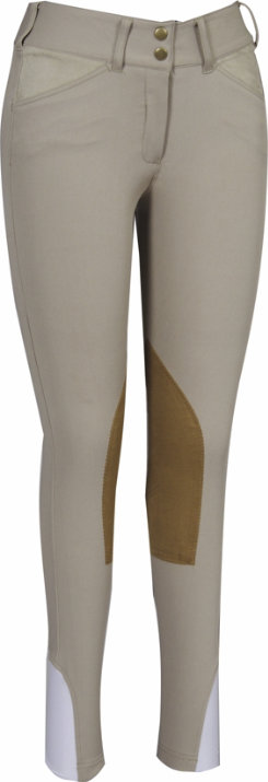 Equine Couture Kids Champion Front Zip Riding Breeches
