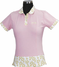 Equine Couture Kids Hawaiin Short Sleeved Polo Shirt Best Price