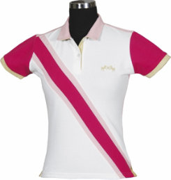 Equine Couture Ladies Plus Sized Oceanic Polo Shirt Best Price