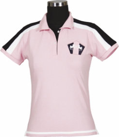 Equine Couture Ladies Short Sleeved Pacific Polo Shirt Best Price