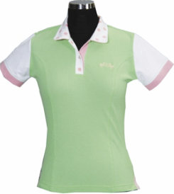 Equine Couture Palm Beach Ladies Short Sleeved Polo Shirt