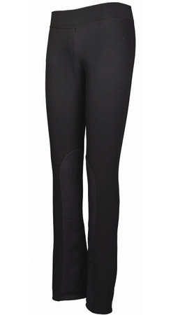 Tuffrider Ladies Ribbed Boot Cut Riding Tights