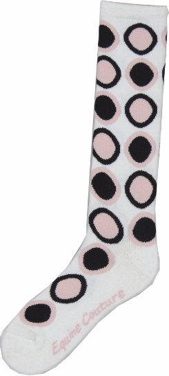 Equine Couture Ladies Roundabout Socks