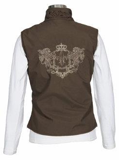 Equine Couture Ladies Plus Size Heritage Vest Best Price