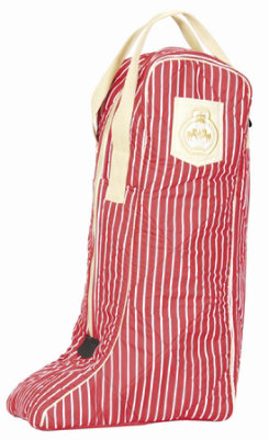 Equine Couture Ascot Striped Boot Bag Best Price
