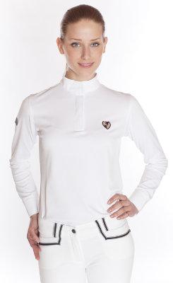Kingsland Ladies Classic Long Sleeve Dressage Show Shirt Best Price