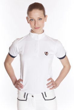 Kingsland Ladies Classic Short Sleeve Dressage Show Shirt Best Price
