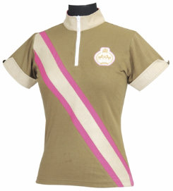 Equine Couture Ladies Plus Size Berwick Short Sleeve Polo Shirt Best Price