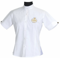 Equine Couture Ladies Paxton Short Sleeve Show Shirt Best Price
