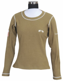 Equine Couture Ladies Plus Size Hannover Long Sleeve Shirt Best Price