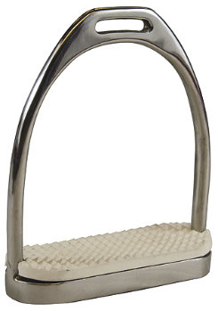 Henri de Rivel Stainless Steel Fillis Stirrups with Pads Best Price