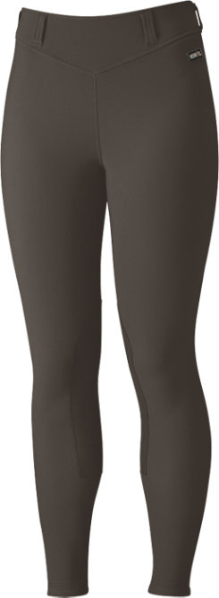 Kerrits Ladies Plus Size Microcord Knee Patch Breeches