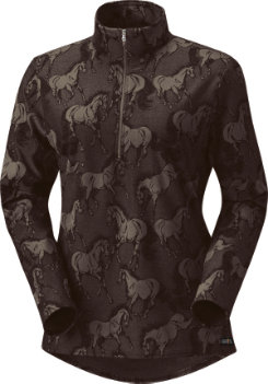 Kerrits Ladies Unbridled Half Zip Riding Shirt Best Price