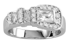 Kelly Herd Clear Buckle Ring Best Price