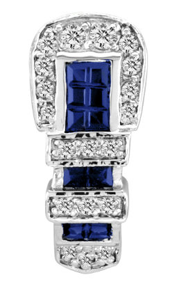Kelly Herd Blue Buckle Pendant Best Price