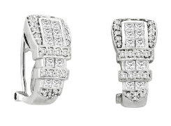 Kelly Herd Clear Buckle Earrings Best Price