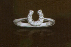 Kelly Herd Baby Horseshoe Ring Best Price